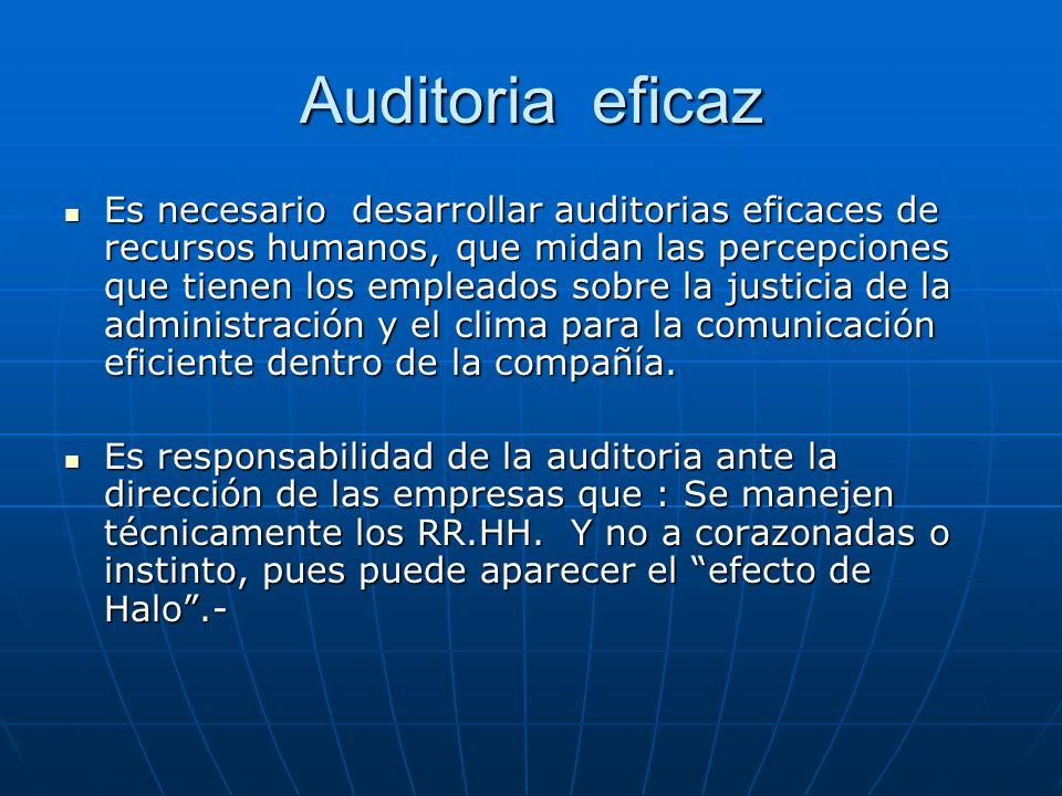 Auditoria eficaz