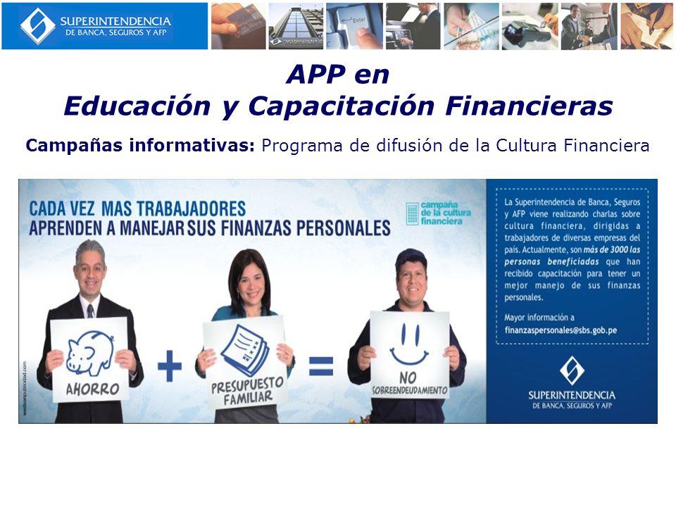 APP en Educación y Capacitación Financieras