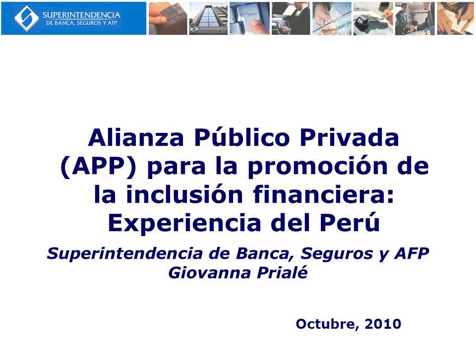 Superintendencia de Banca, Seguros y AFP Giovanna Prialé