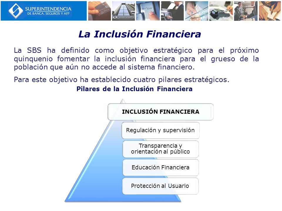 La Inclusión Financiera