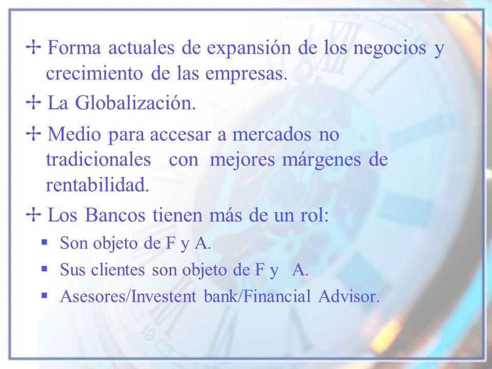 Los Bancos tienen más de un rol:
