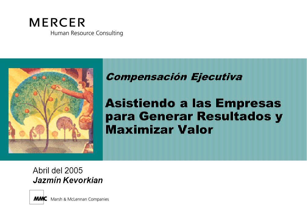 Compensación Ejecutiva Asistiendo a las Empresas para Generar Resultados y Maximizar Valor