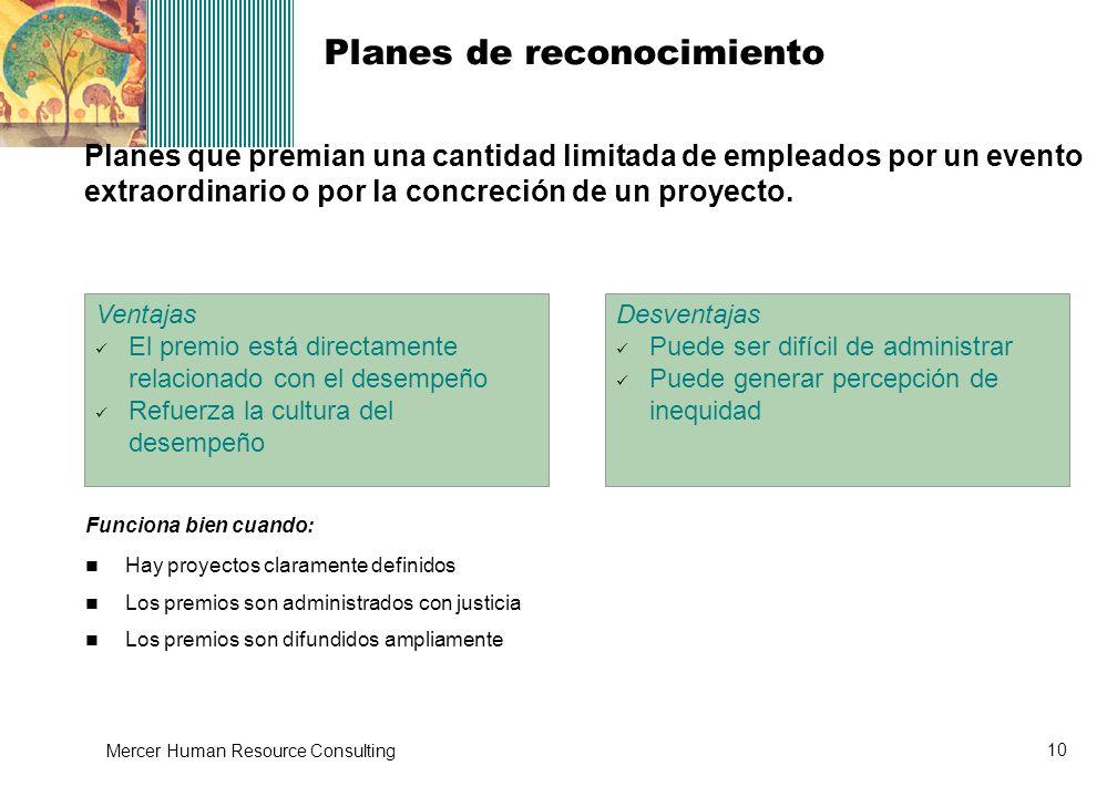 Planes de reconocimiento