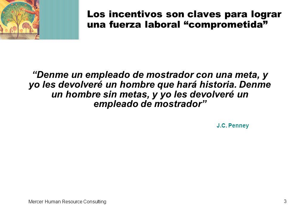 Los incentivos son claves para lograr una fuerza laboral comprometida