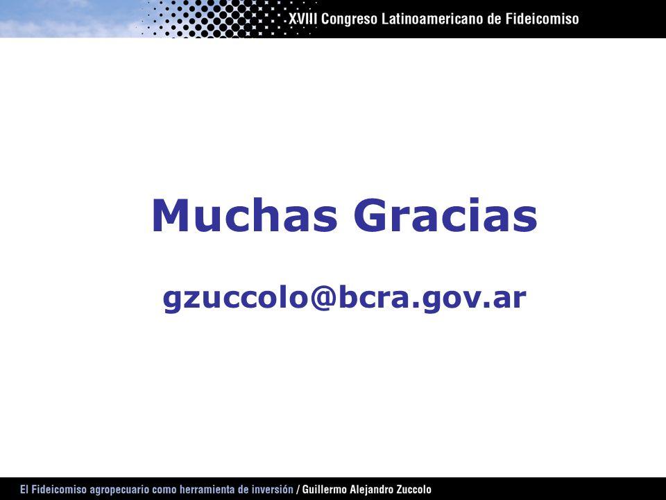 Muchas Gracias gzuccolo@bcra.gov.ar