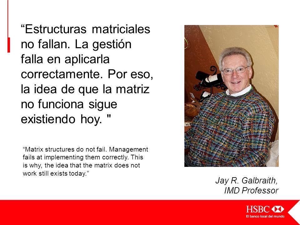 Matrix structures do not fail