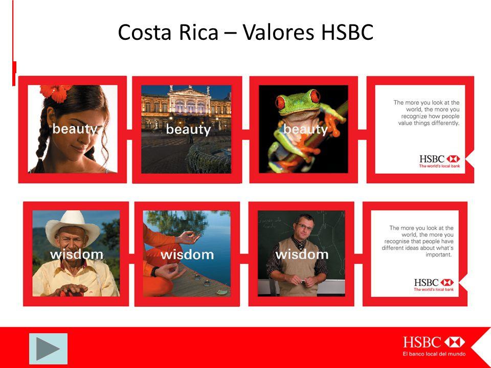 Costa Rica – Valores HSBC