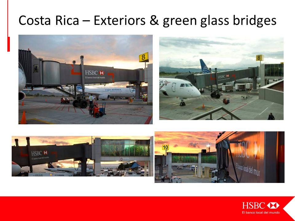 Costa Rica – Exteriors & green glass bridges