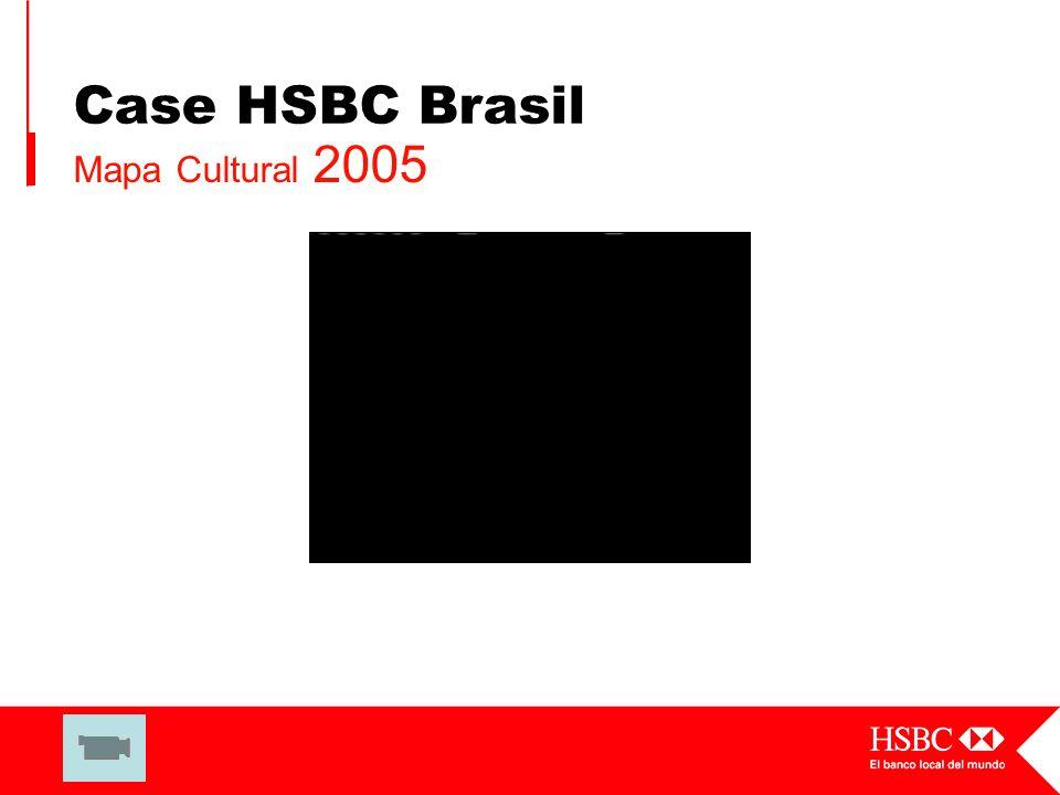 Case HSBC Brasil Mapa Cultural 2005