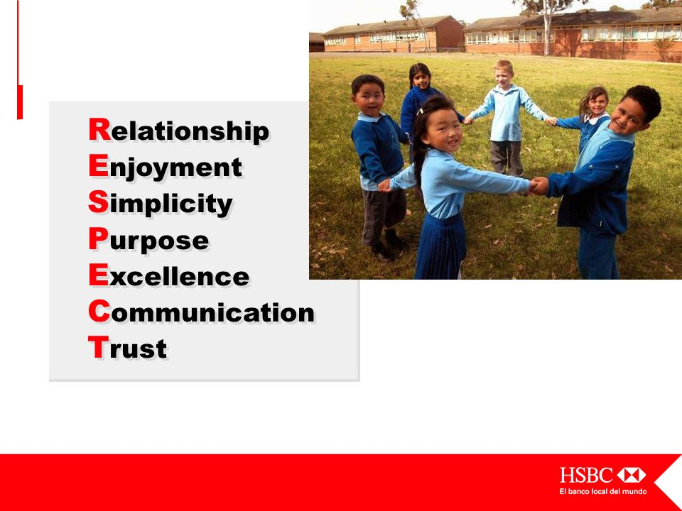 Relationship Enjoyment Simplicity Purpose Excellence Communication