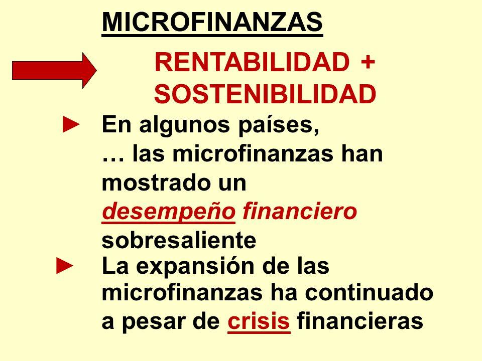 RENTABILIDAD + SOSTENIBILIDAD