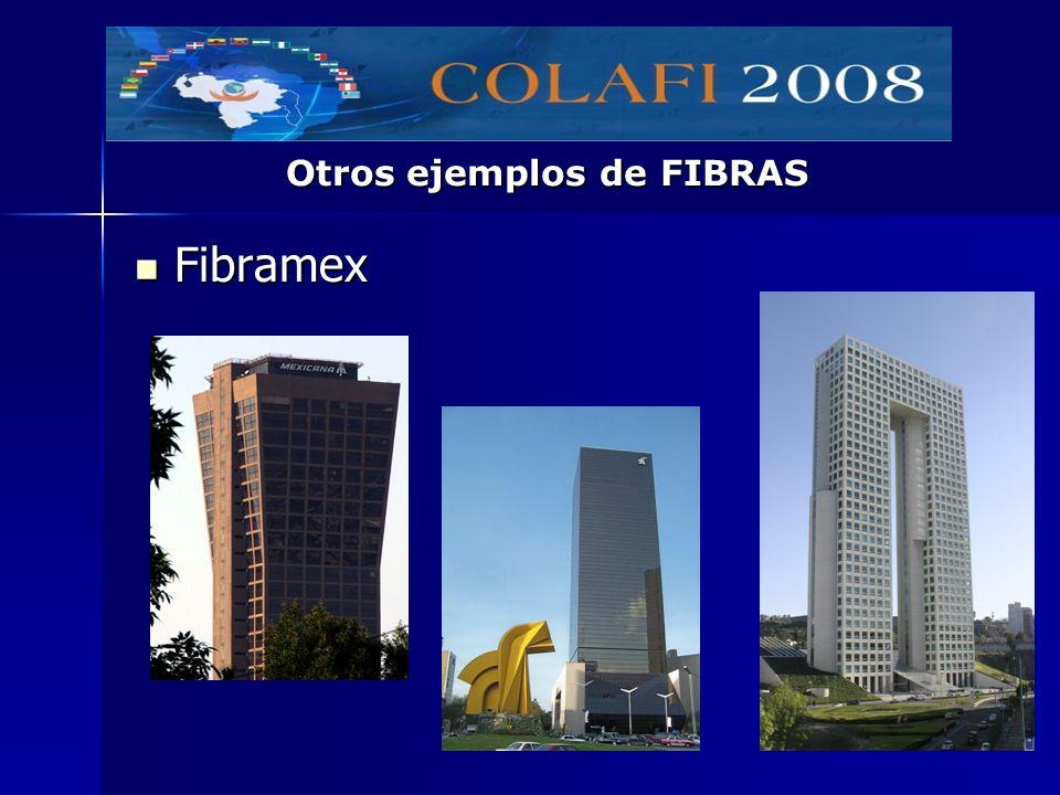 Otros ejemplos de FIBRAS