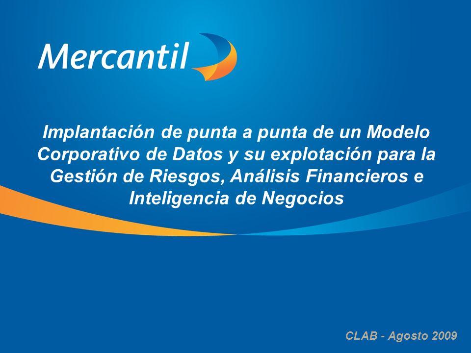 Implantación de punta a punta de un Modelo Corporativo de Datos y su explotación para la Gestión de Riesgos, Análisis Financieros e Inteligencia de Negocios