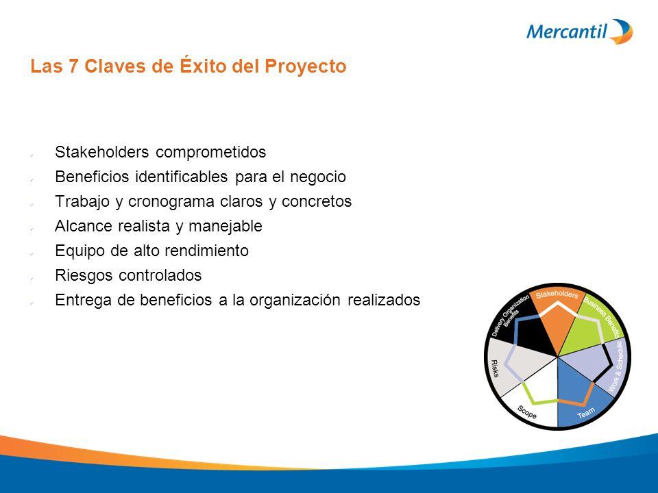 Las 7 Claves de Éxito del Proyecto