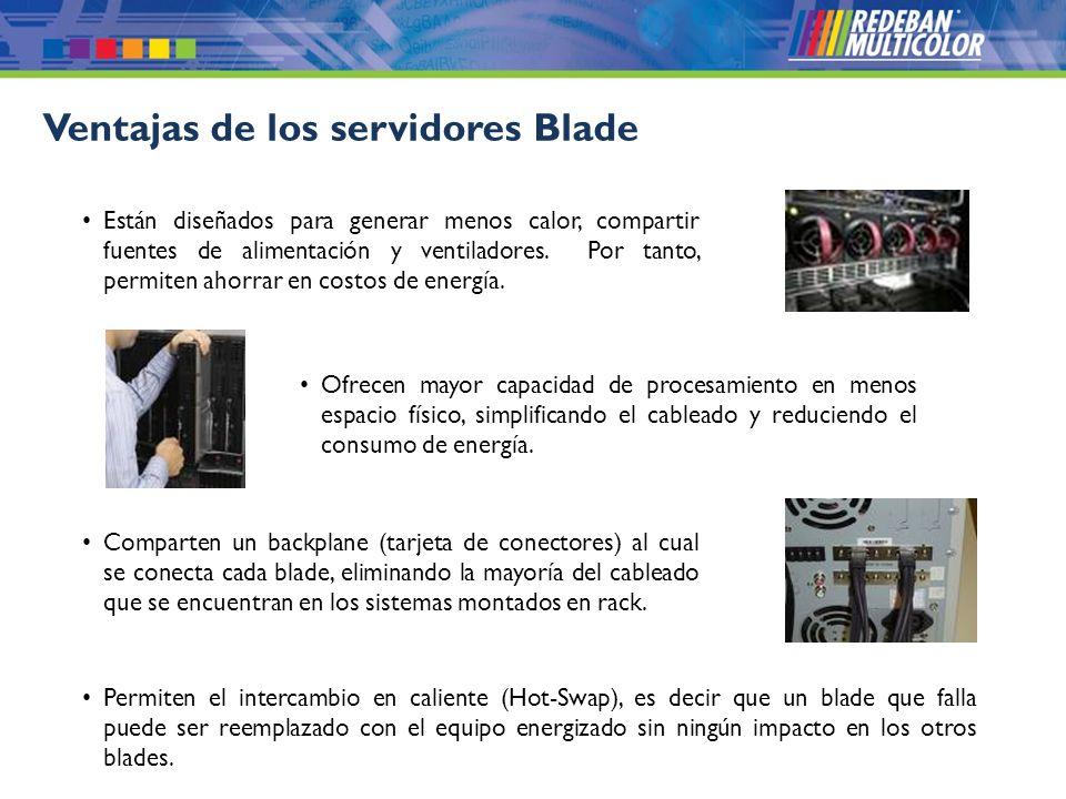Ventajas de los servidores Blade