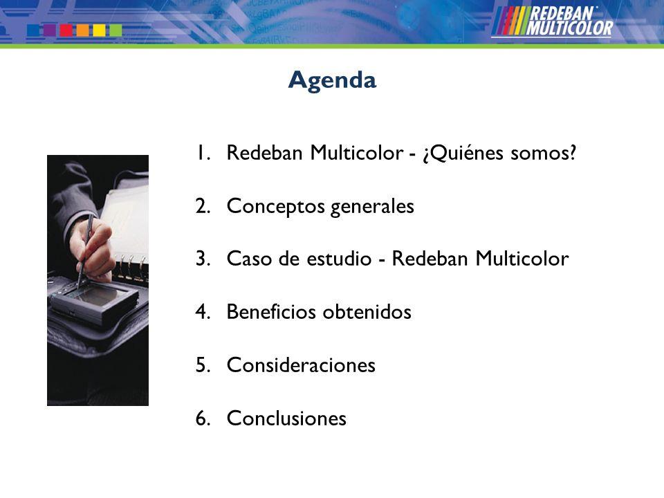 Agenda Redeban Multicolor - ¿Quiénes somos Conceptos generales