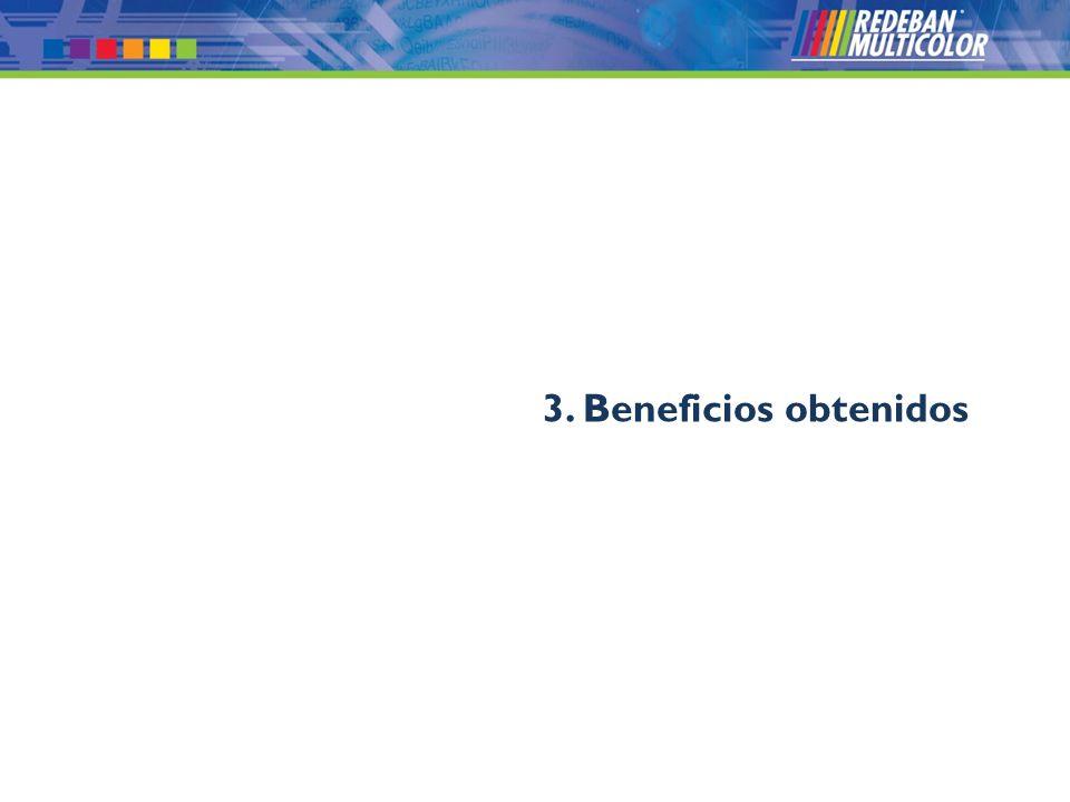 3. Beneficios obtenidos