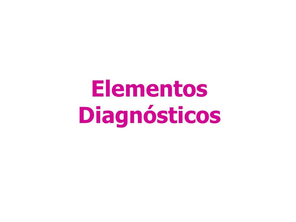 Elementos Diagnósticos