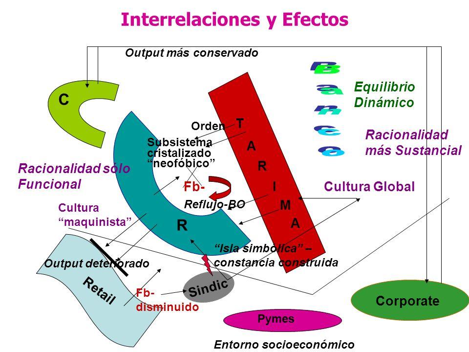 Interrelaciones y Efectos