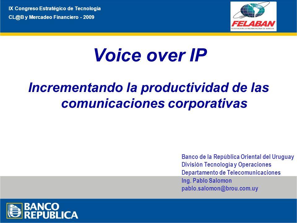 Incrementando la productividad de las comunicaciones corporativas