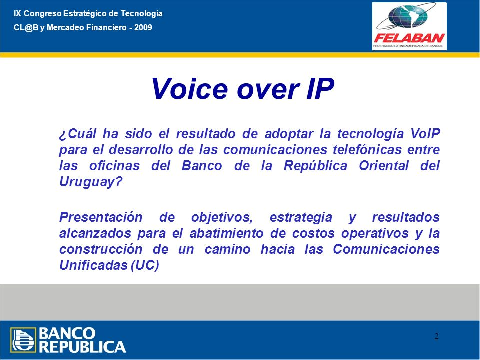 IX Congreso Estratégico de Tecnología