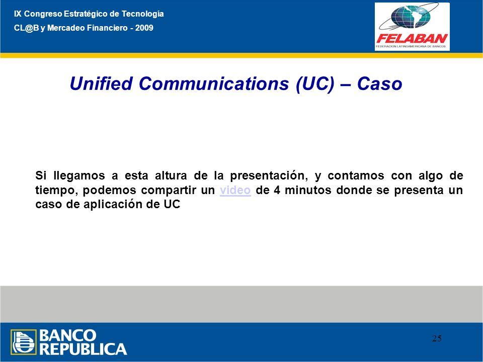 Unified Communications (UC) – Caso