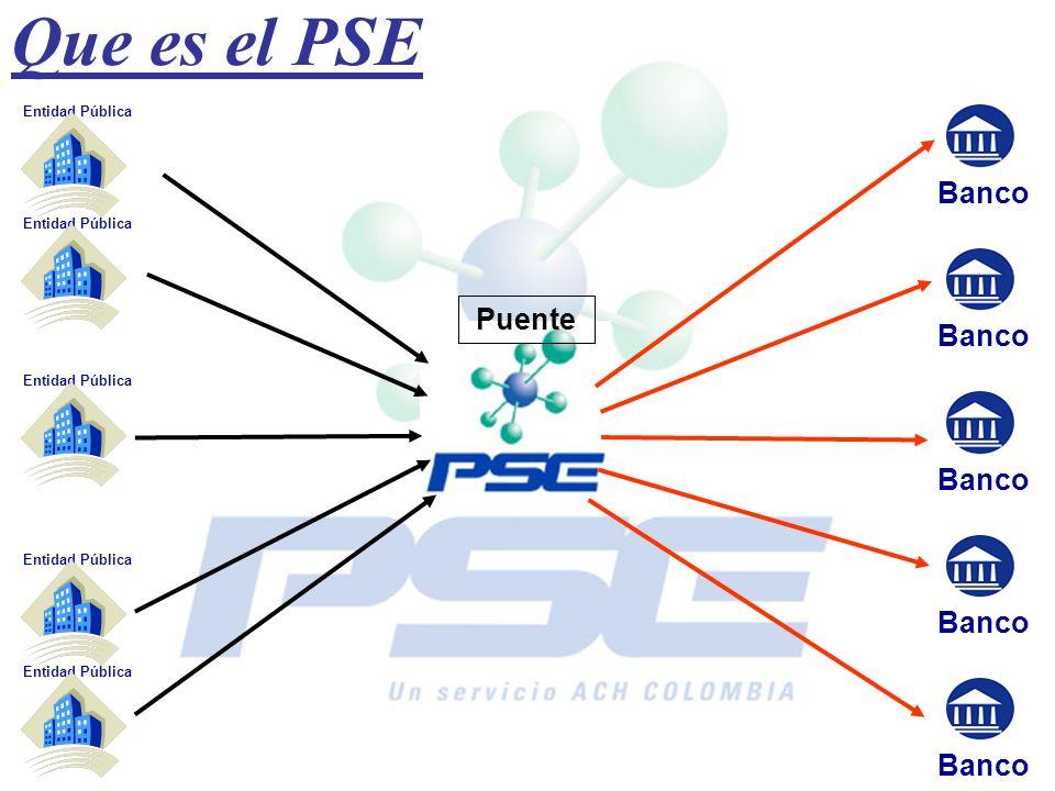 Que es el PSE Banco Puente Banco Banco Banco Banco Entidad Pública