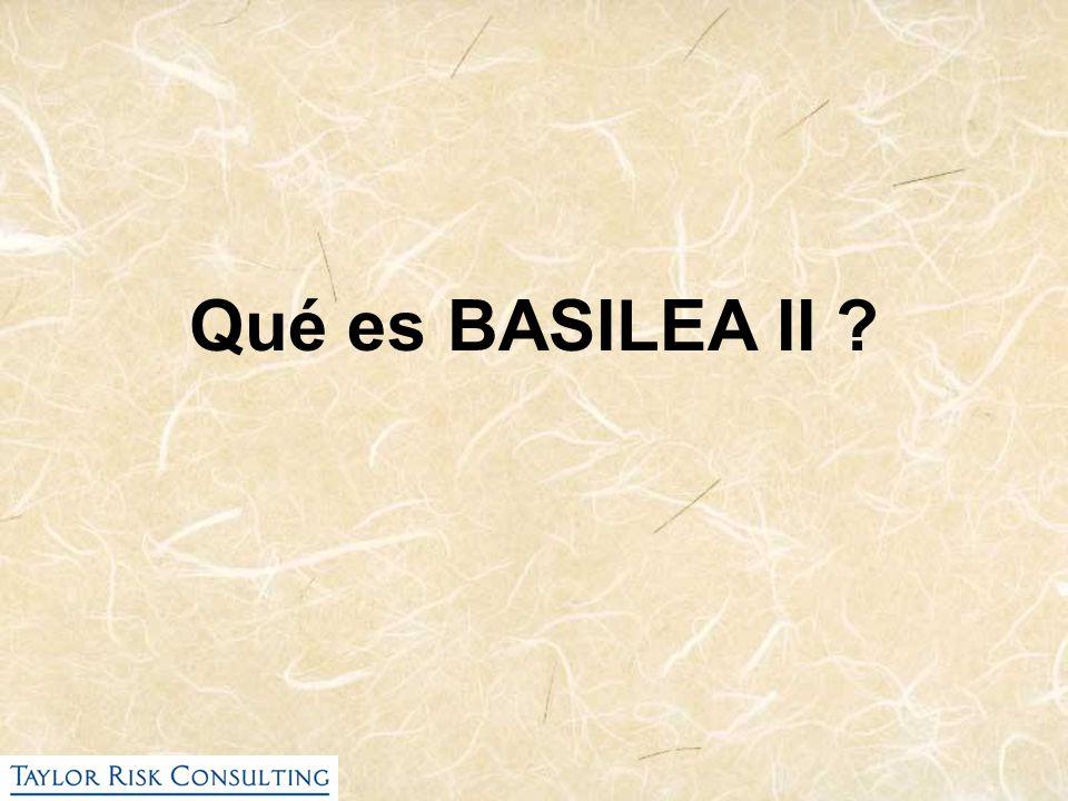 Qué es BASILEA II