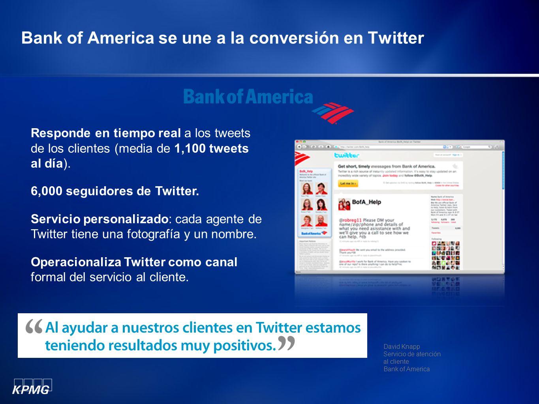 Bank of America se une a la conversión en Twitter