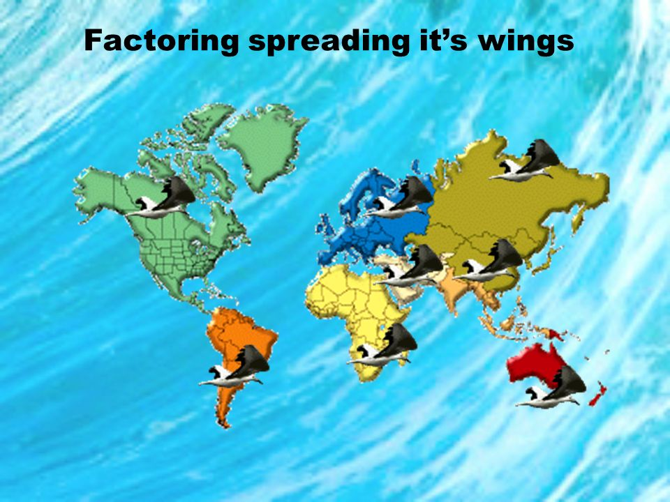 Factoring spreading it's wings