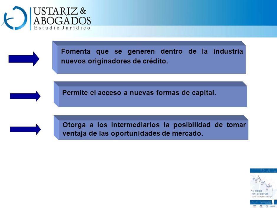 Permite el acceso a nuevas formas de capital.