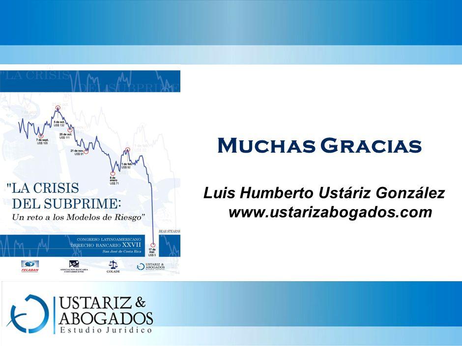 Luis Humberto Ustáriz González www.ustarizabogados.com