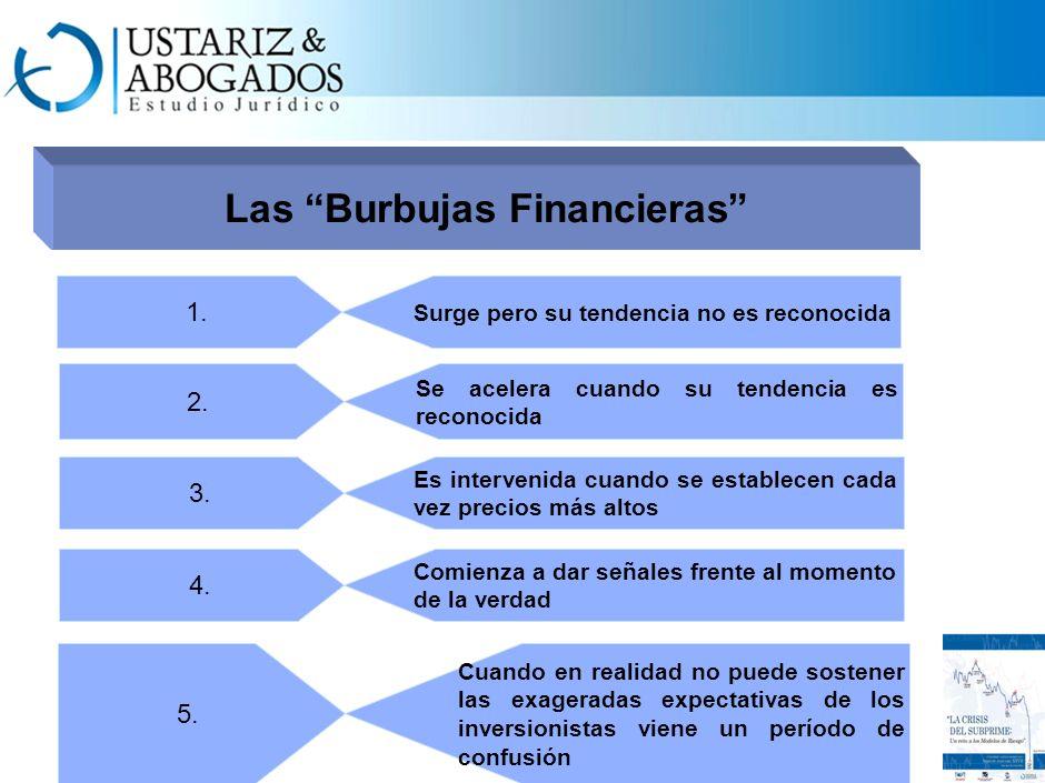 Las Burbujas Financieras