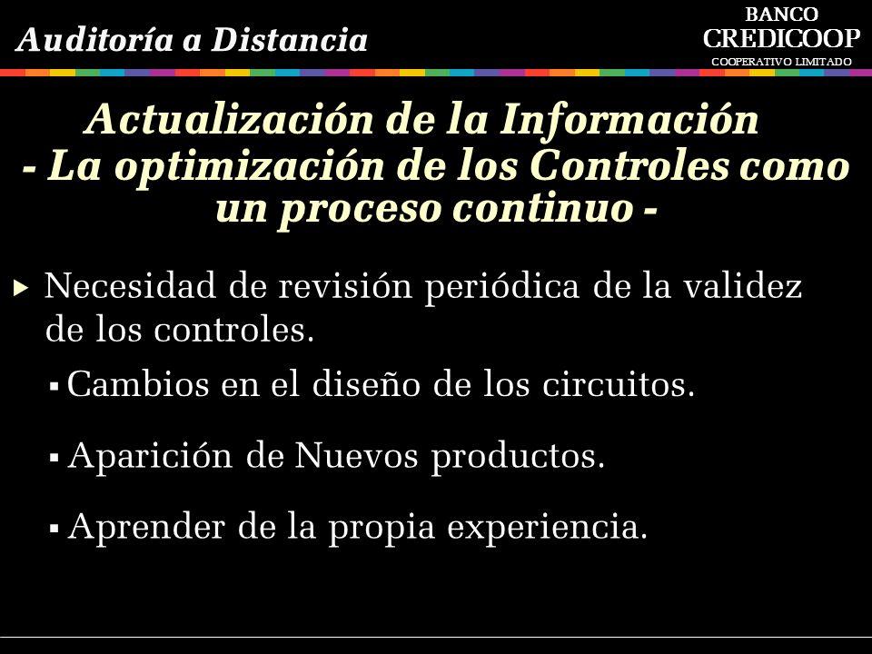 Actualización de la Información