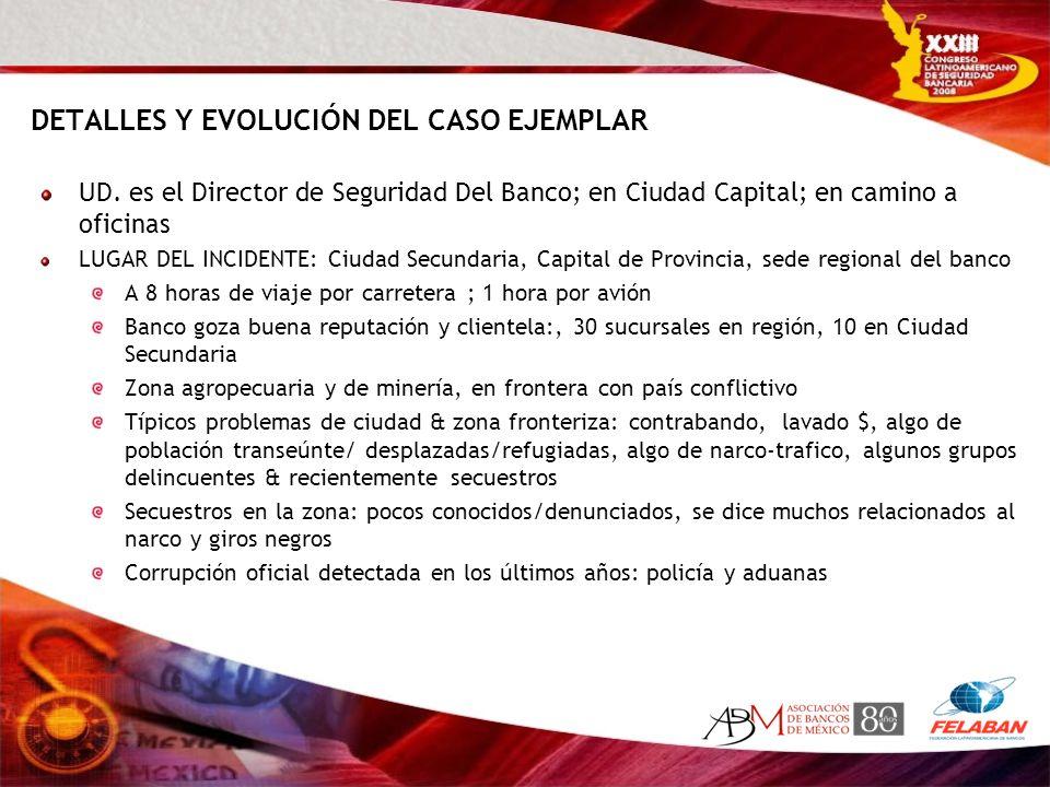 DETALLES Y EVOLUCIÓN DEL CASO EJEMPLAR