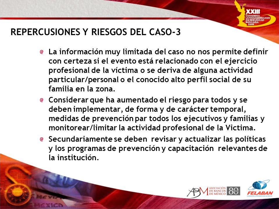 REPERCUSIONES Y RIESGOS DEL CASO-3