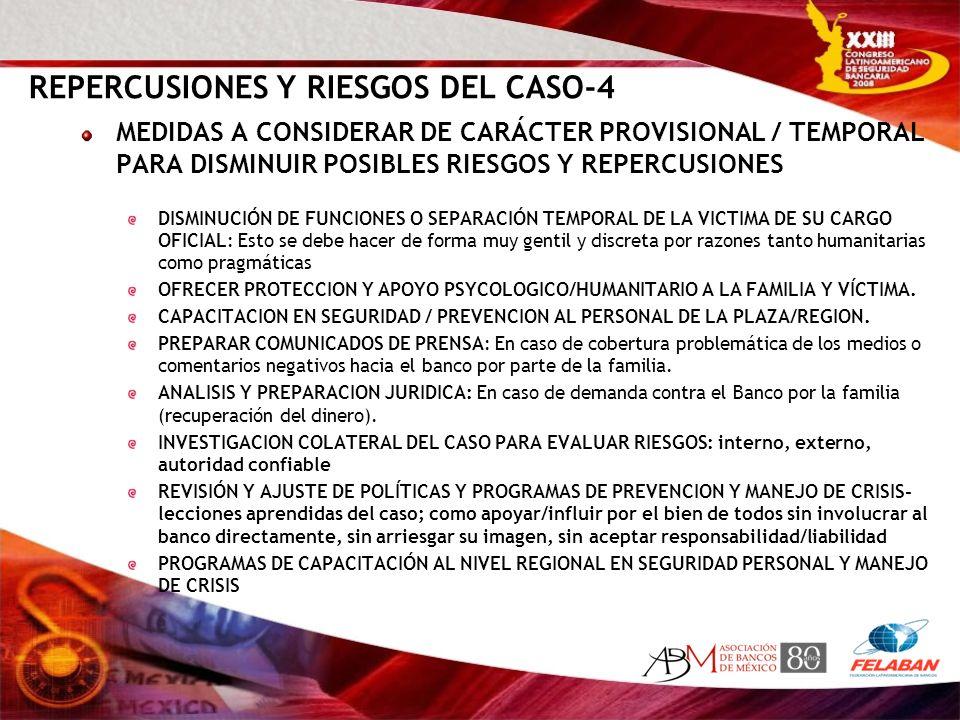 REPERCUSIONES Y RIESGOS DEL CASO-4