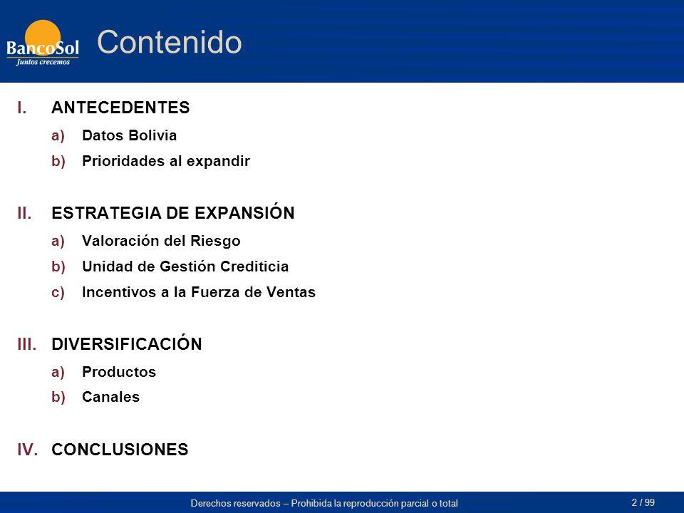 Contenido ANTECEDENTES ESTRATEGIA DE EXPANSIÓN DIVERSIFICACIÓN