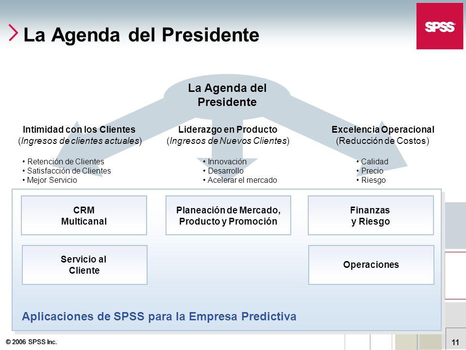 La Agenda del Presidente