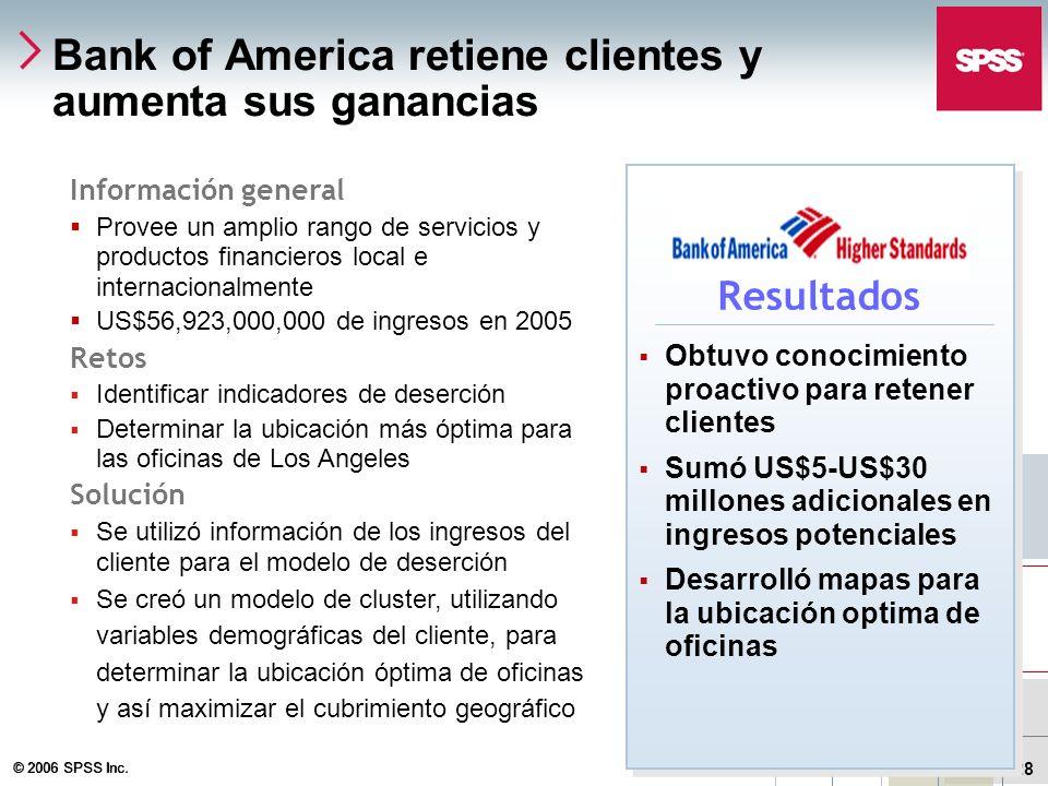 Bank of America retiene clientes y aumenta sus ganancias