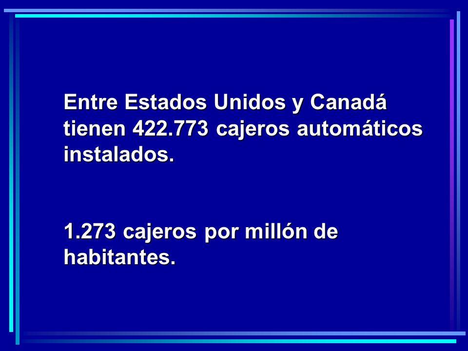 Entre Estados Unidos y Canadá tienen 422