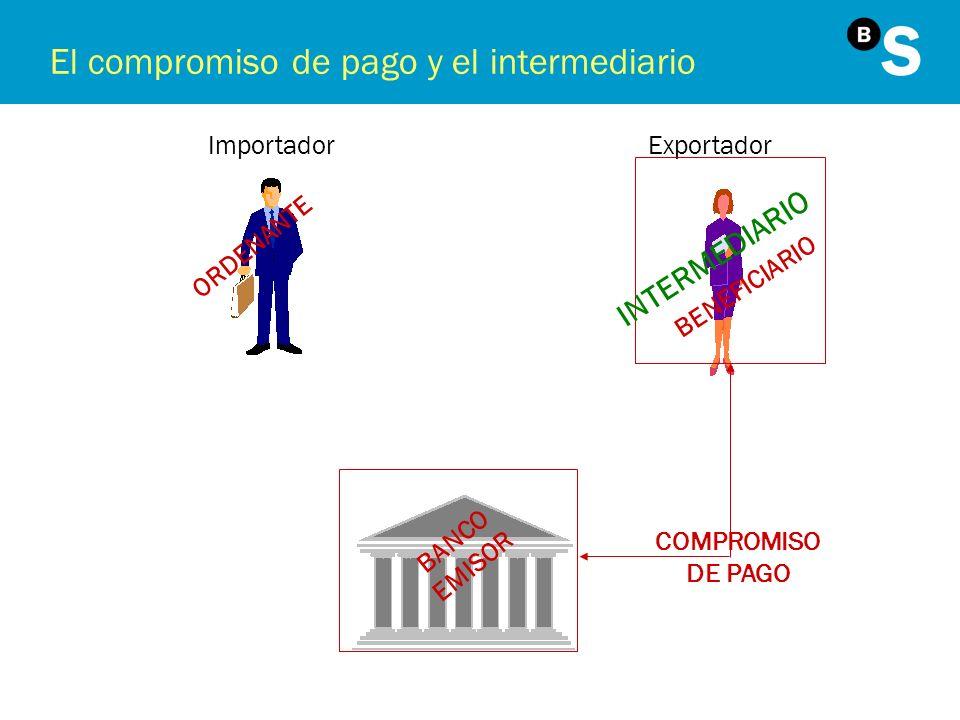 El compromiso de pago y el intermediario