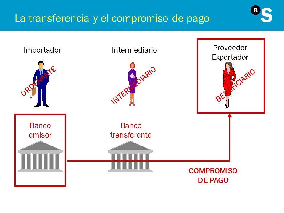 La transferencia y el compromiso de pago