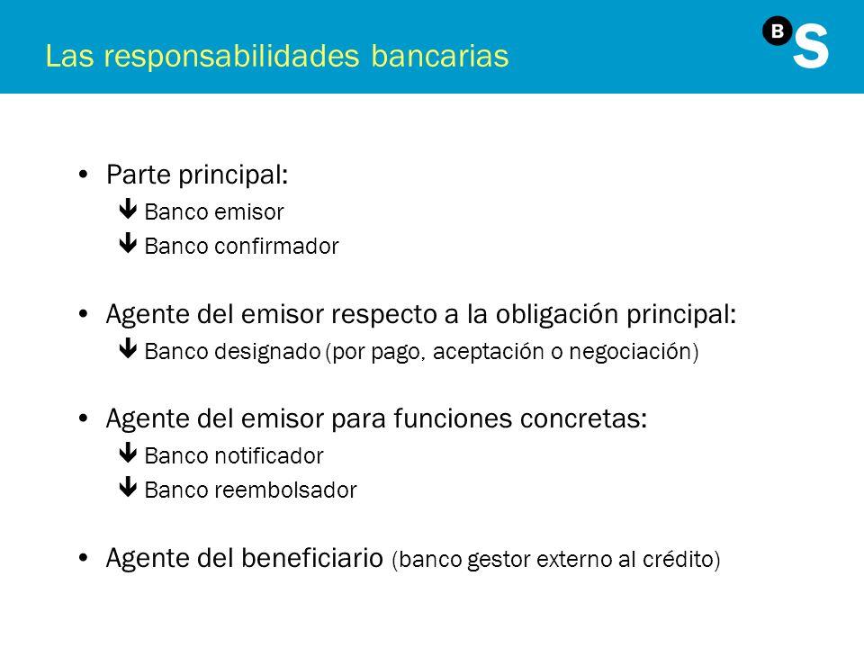 Las responsabilidades bancarias