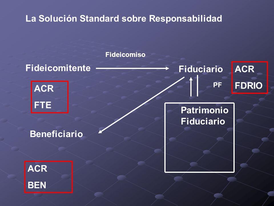 La Solución Standard sobre Responsabilidad