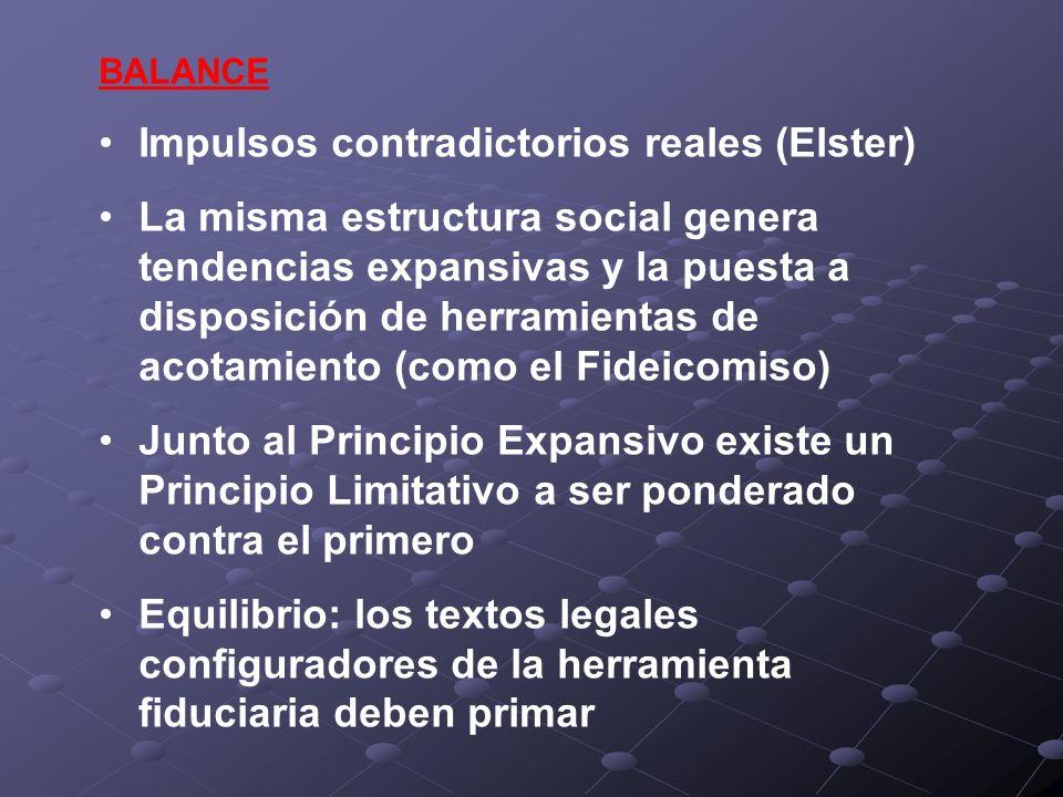 Impulsos contradictorios reales (Elster)