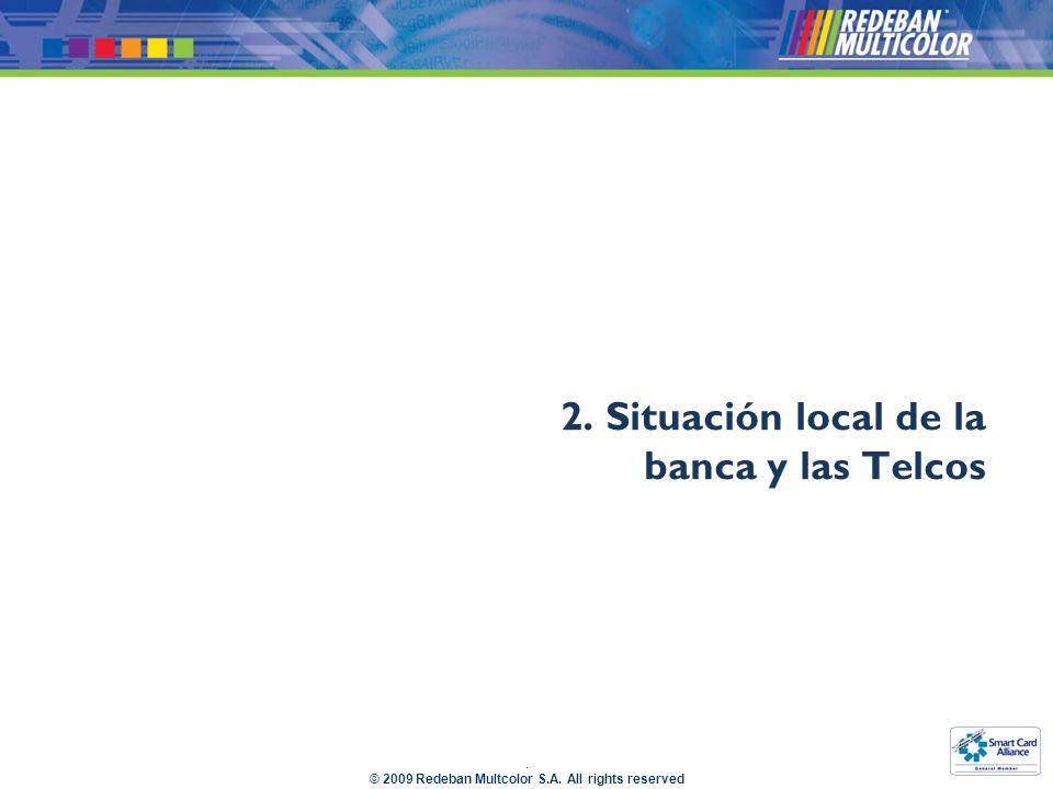 2. Situación local de la banca y las Telcos