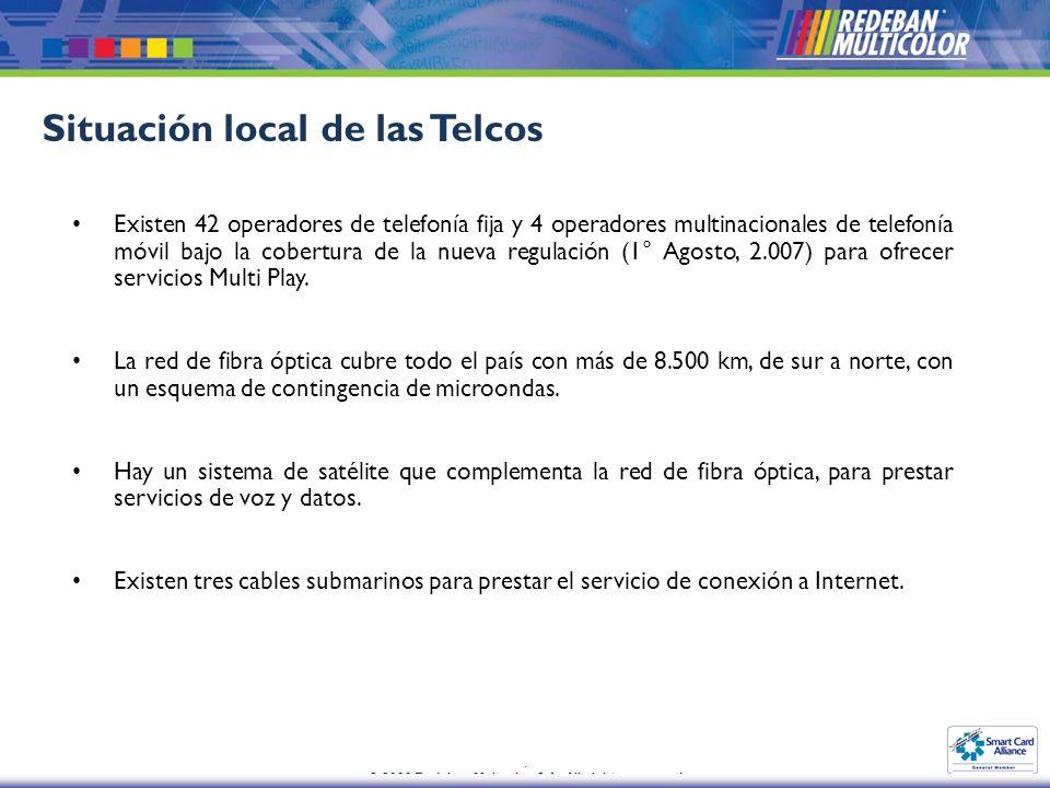 Situación local de las Telcos