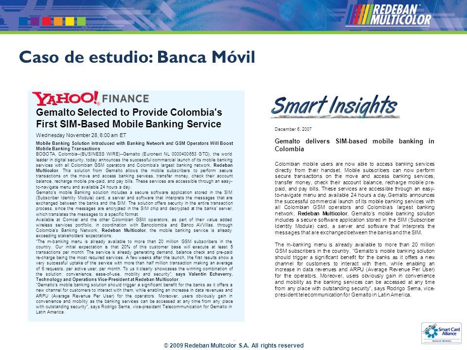 Caso de estudio: Banca Móvil