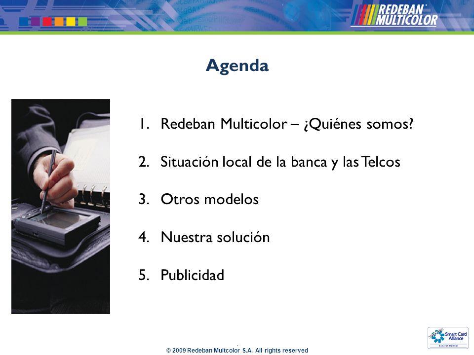 Agenda Redeban Multicolor – ¿Quiénes somos